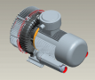 side channel blower compressor