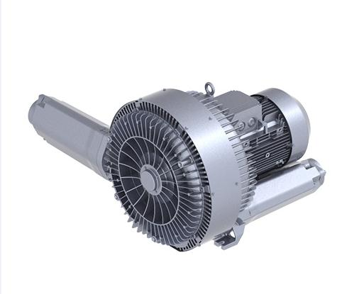 Pneumatic side channel blower